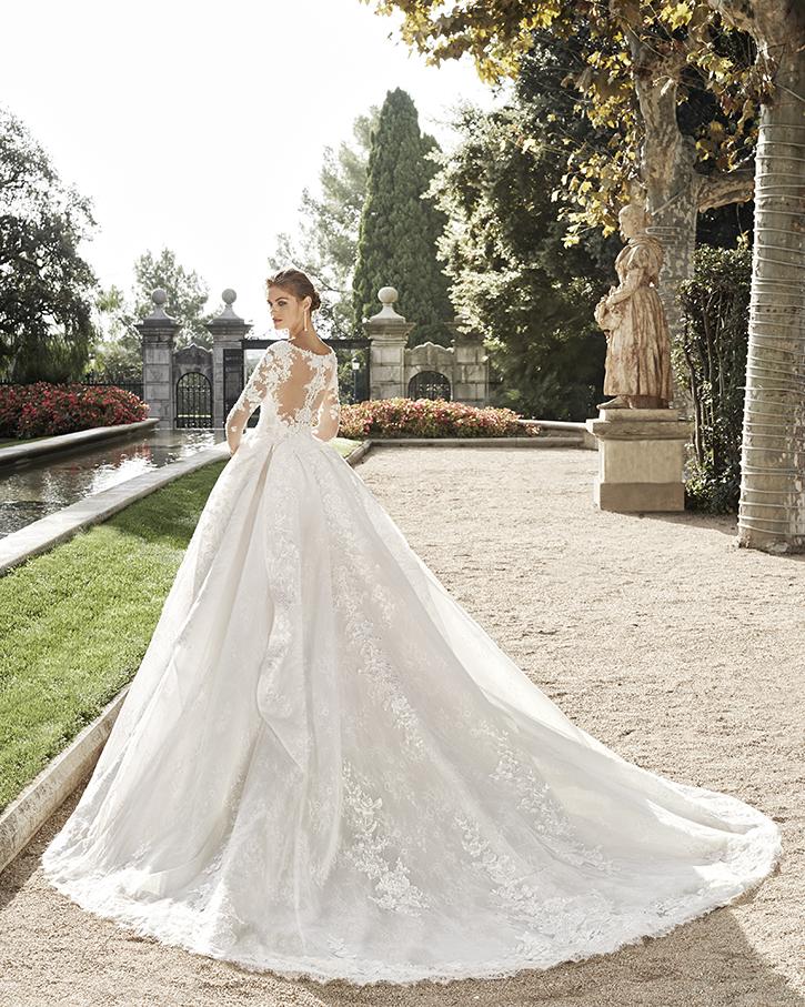 Robe de mariée Baki de dos - Boutique à Héricourt