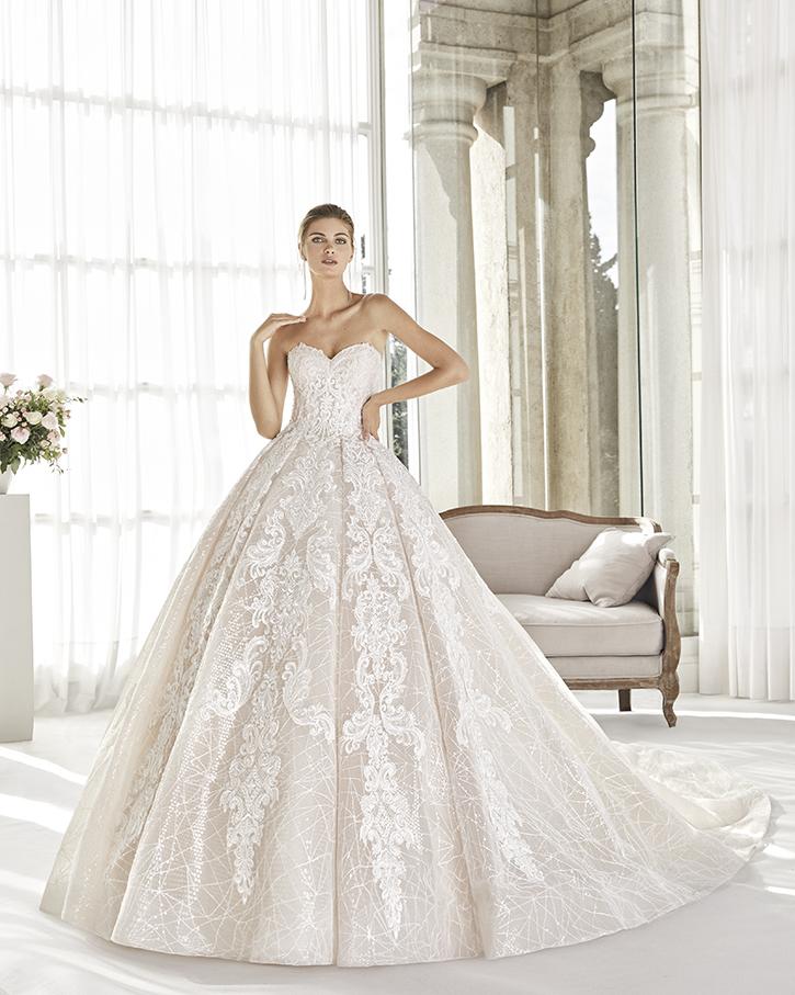 Robe de mariée Princesse - BANDLE