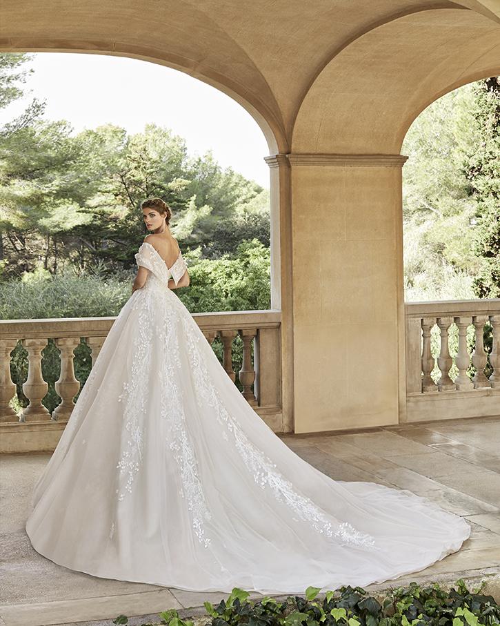 Robe de mariée Princesse - BLANC