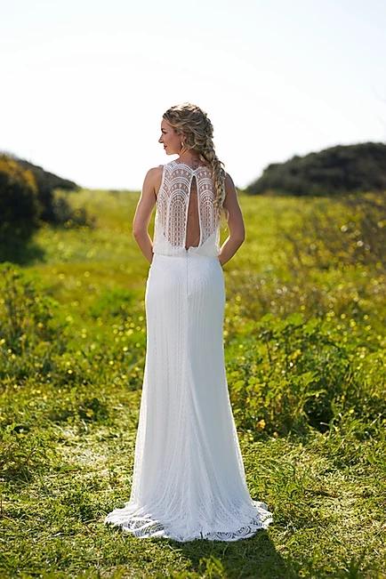 Robe de mariée champêtre - BR