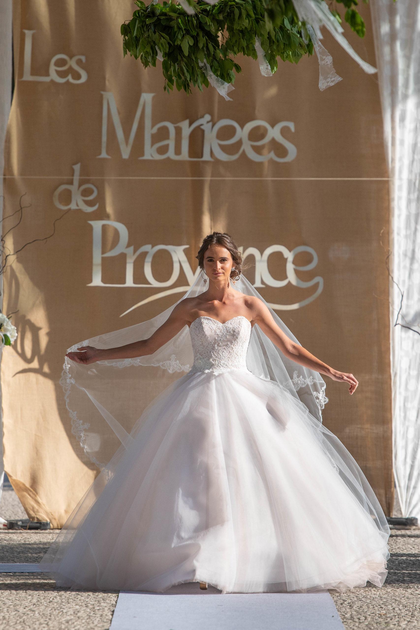 Robe de mariée made in France - CAPUCINE