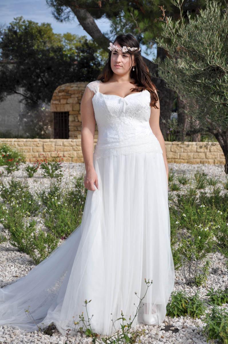 Robe de mariée made in France - CELIA