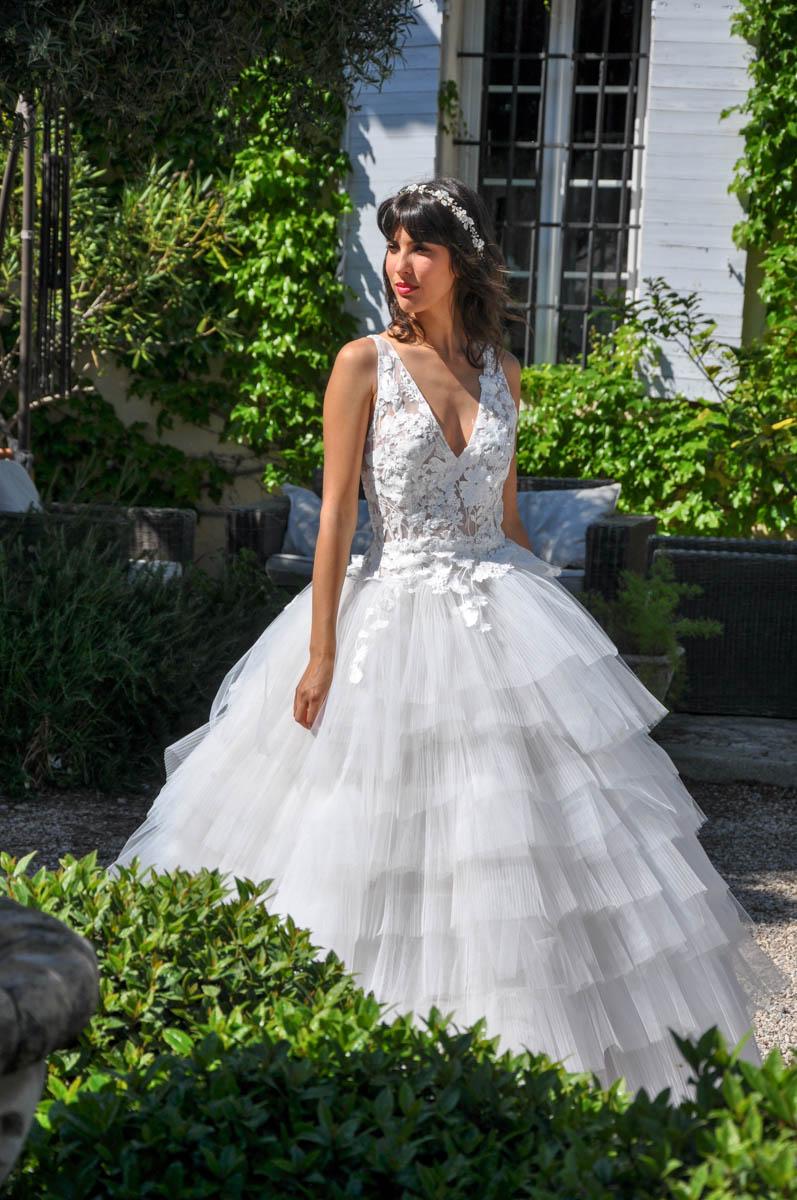 Robe de mariée made in France - CHARLOTTE