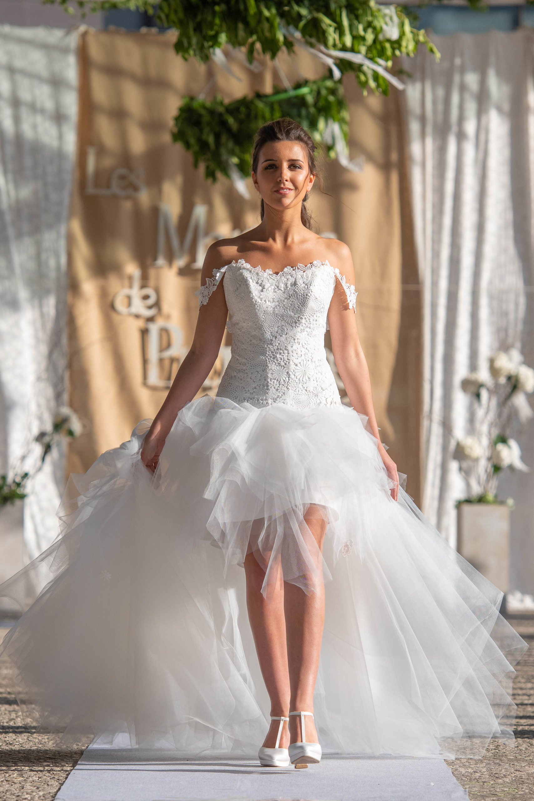 Robe de mariée made in France - EGLANTINE
