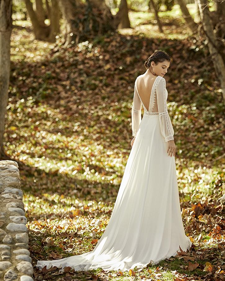 Robe de mariée champêtre - OBED
