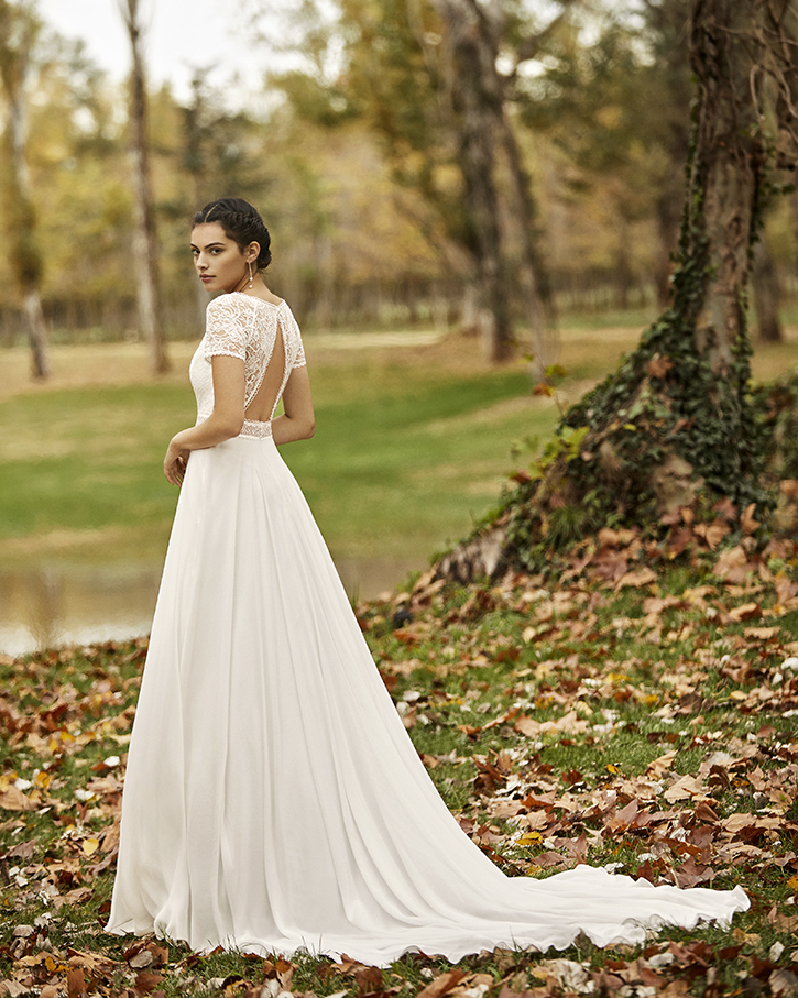 Robe de mariée champêtre - OBRIZO