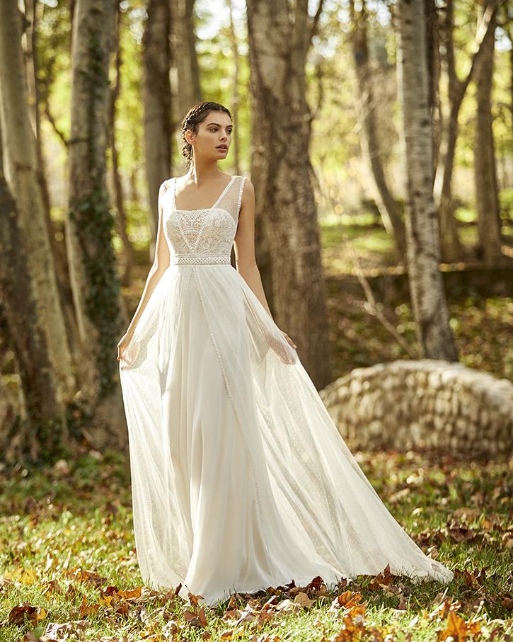Robe de mariée champêtre - OCEANIA