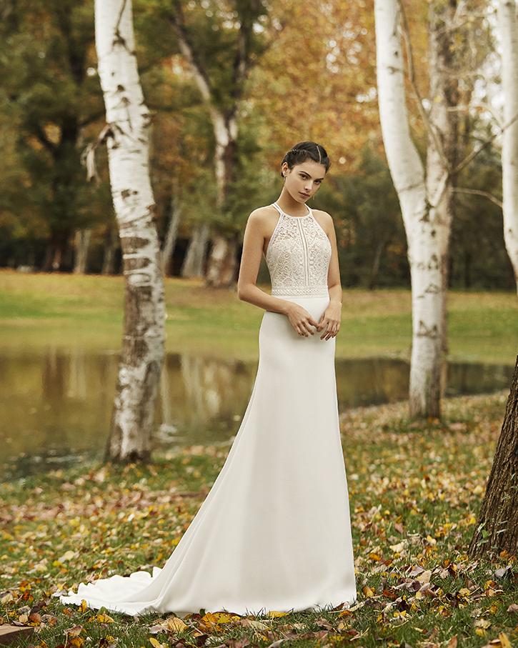 Robe de mariée champêtre - OCRE
