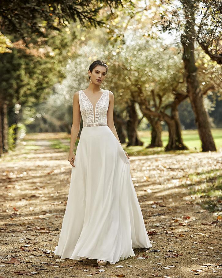 Robe de mariée champêtre - ODA