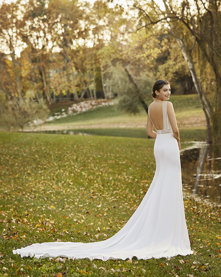 Robe de mariée champêtre - ODETTE