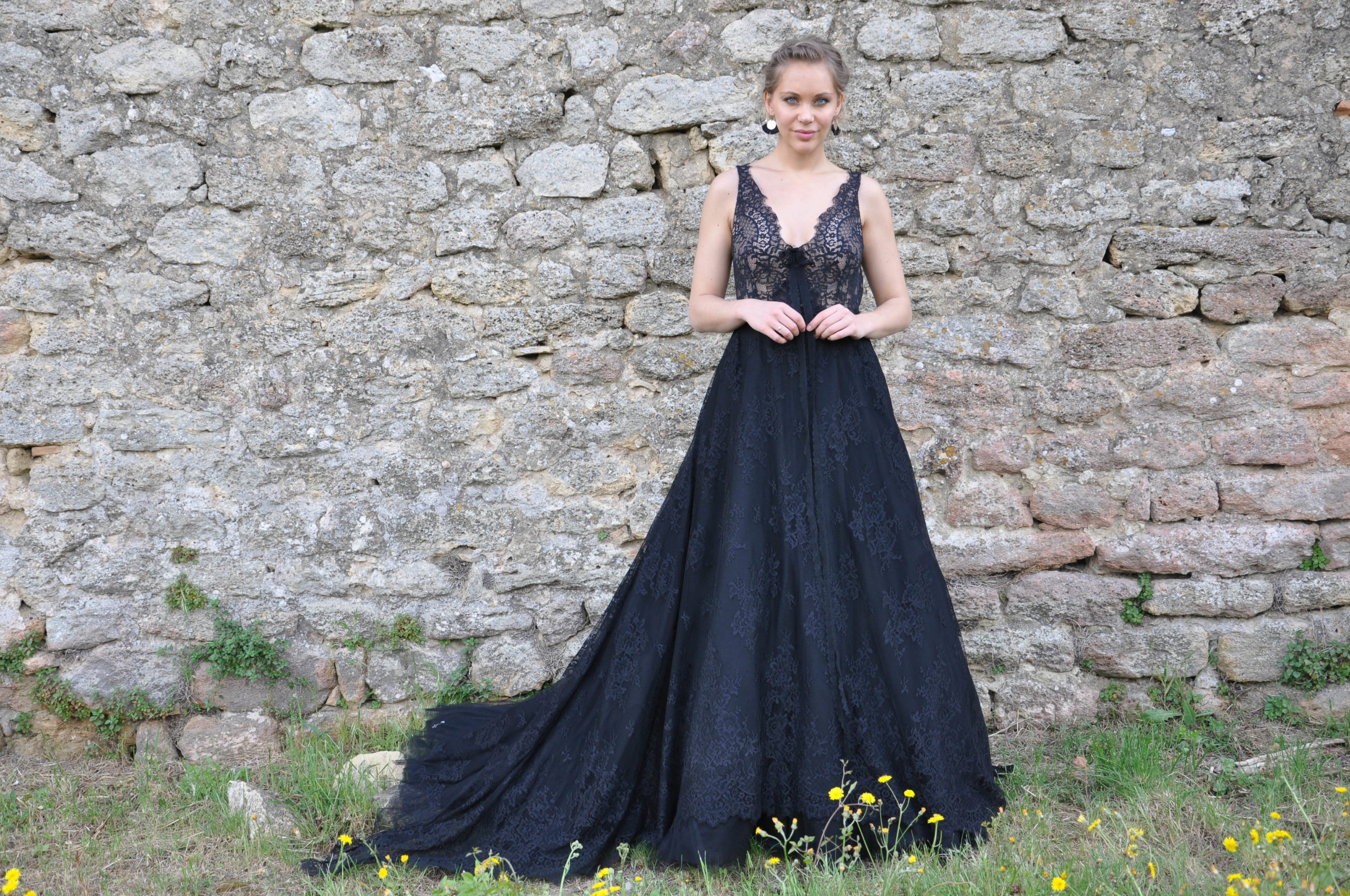 Robe de mariée made in France - REGLISSE