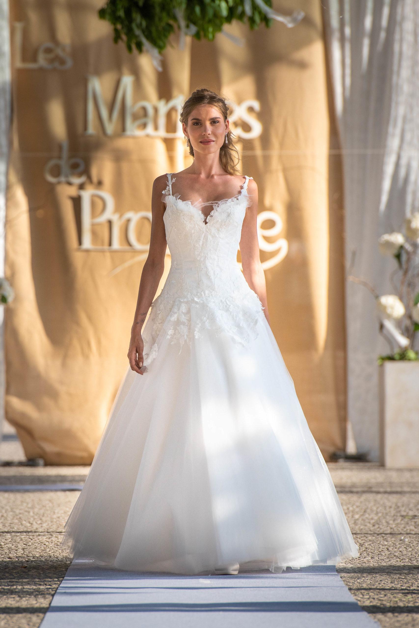 Robe de mariée made in France - SORAYA