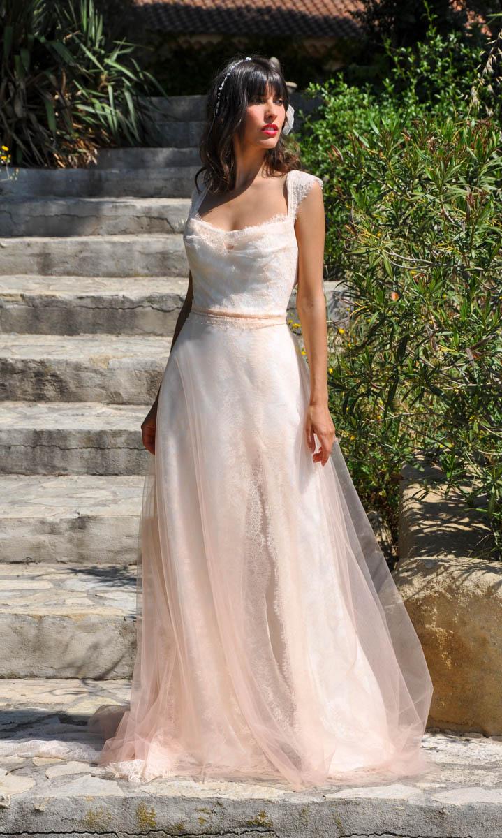 Robe de mariée made in France - VALENTINA