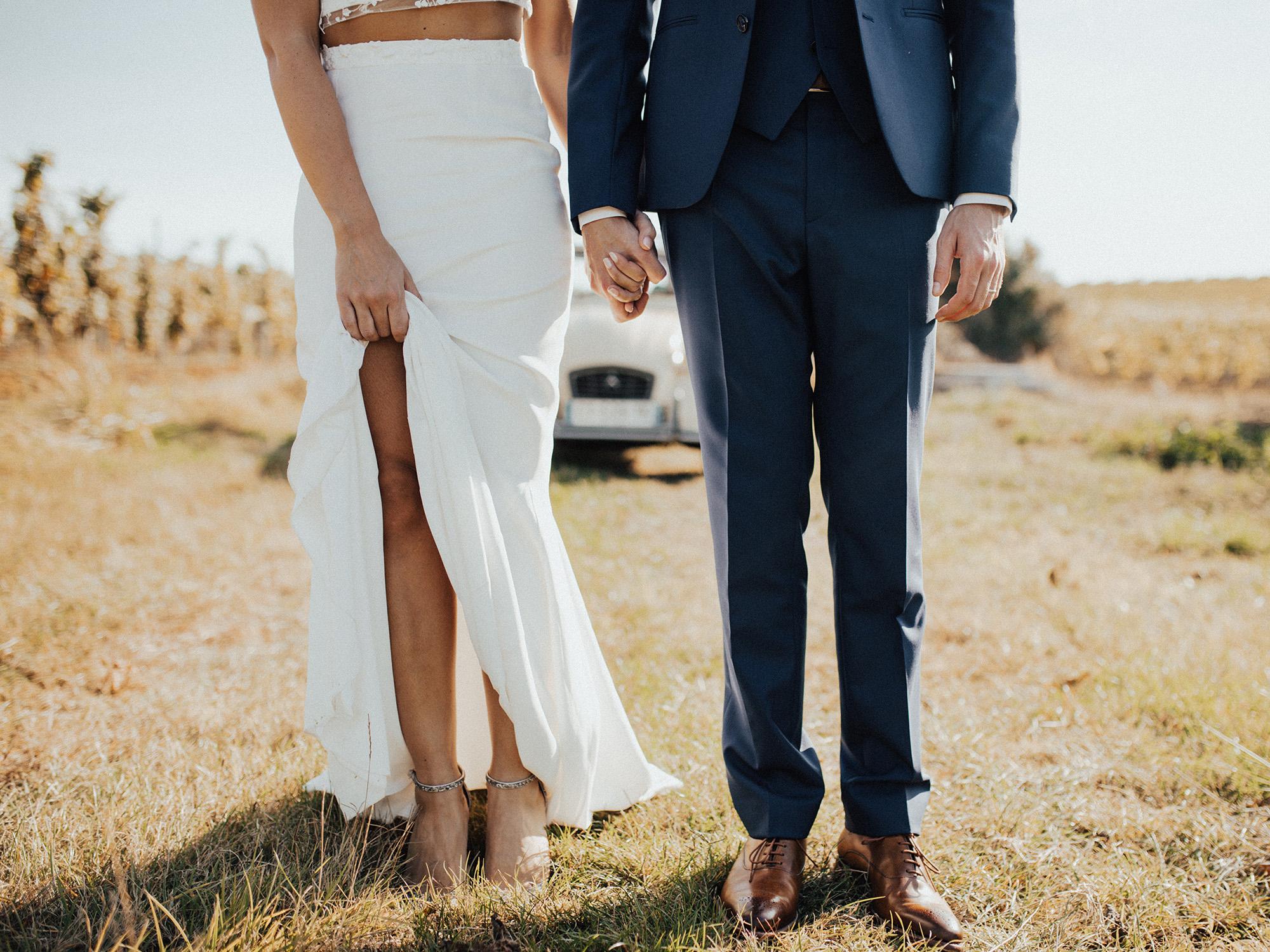Robes de mariée en fin de série