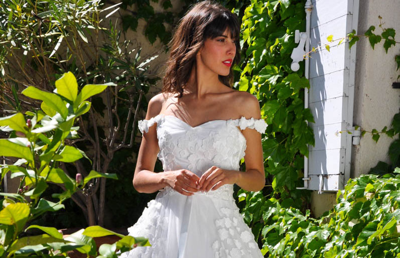 Des robes de mariées fabriquées en France