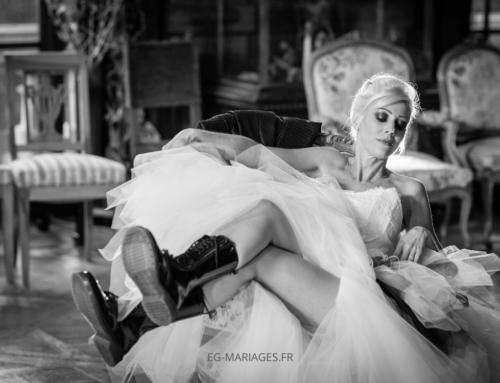 Les chaussures de la mariée